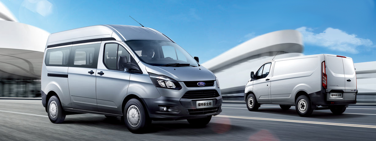 China Ford Transit © Ford Motor Company