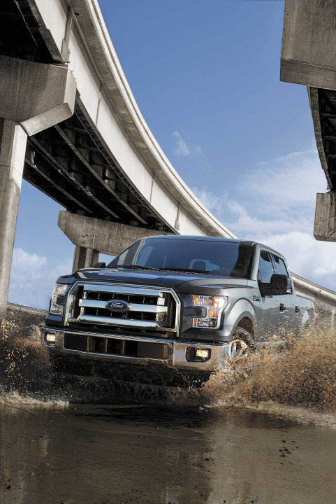 Ford F-150 Fuel Economy Improves with All-New Ecoboost Engine and 10-Speed Transmission