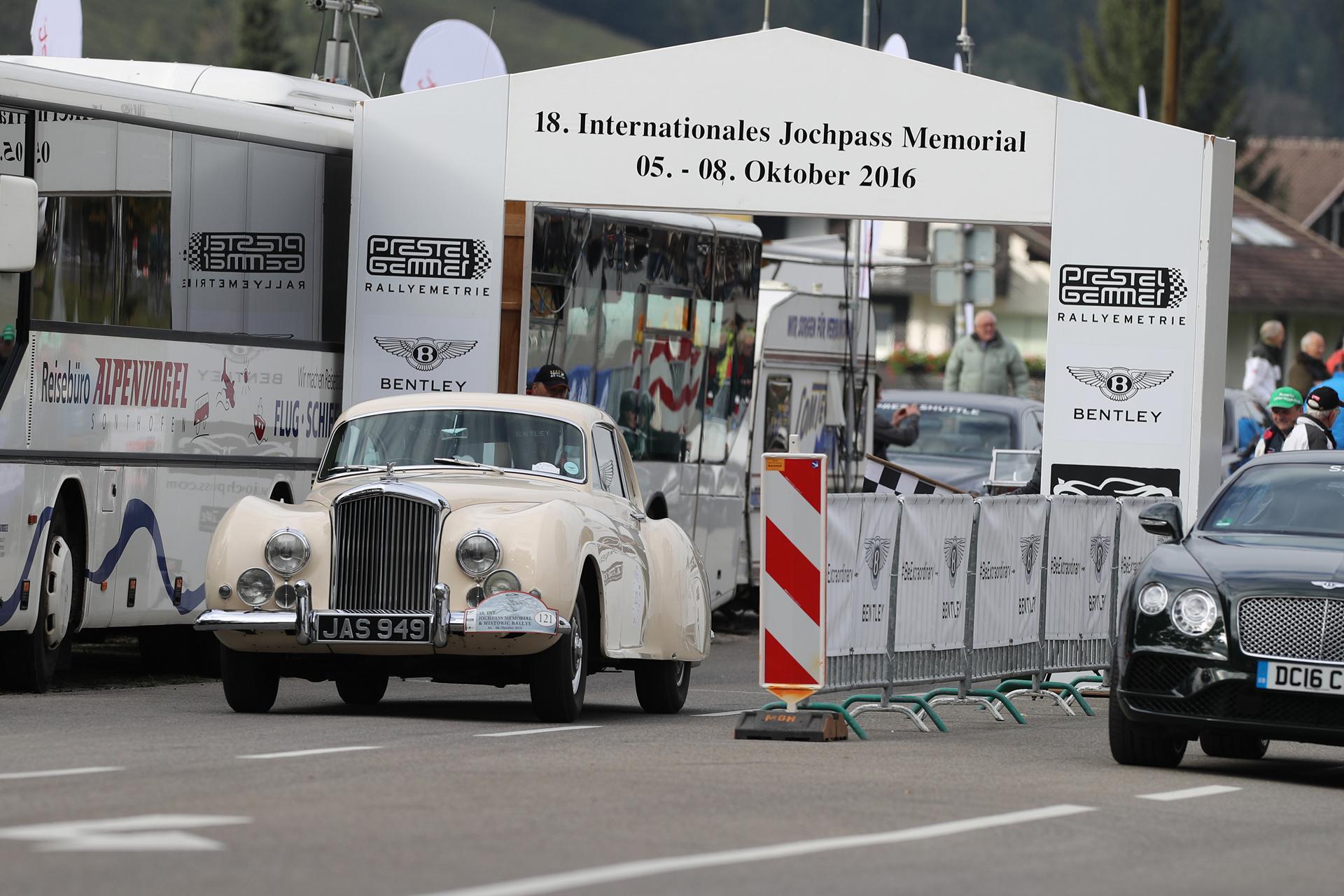 Bentley at the Jochpass Memorial and Historic-Rallye © Volkswagen AG