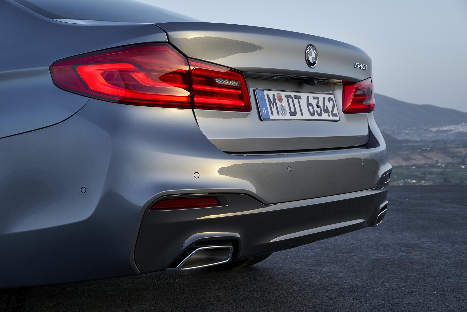 2017 BMW 5 Series © BMW AG