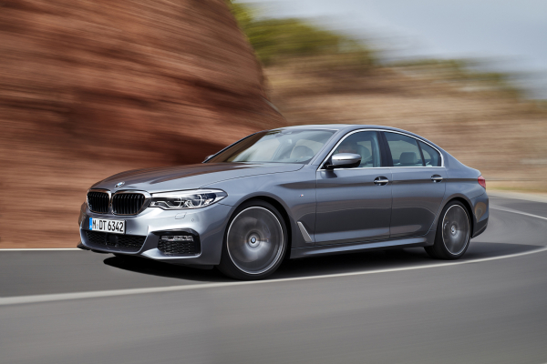 2017 BMW 5 Series © BMW AG