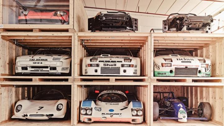 Porsche's Sleeping Beauties