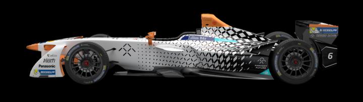 Faraday Future Dragon Racing Reveals Formula E Season Three Livery