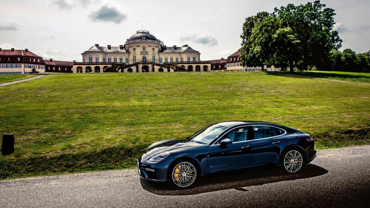 Porsche Panamera: Driving Debut