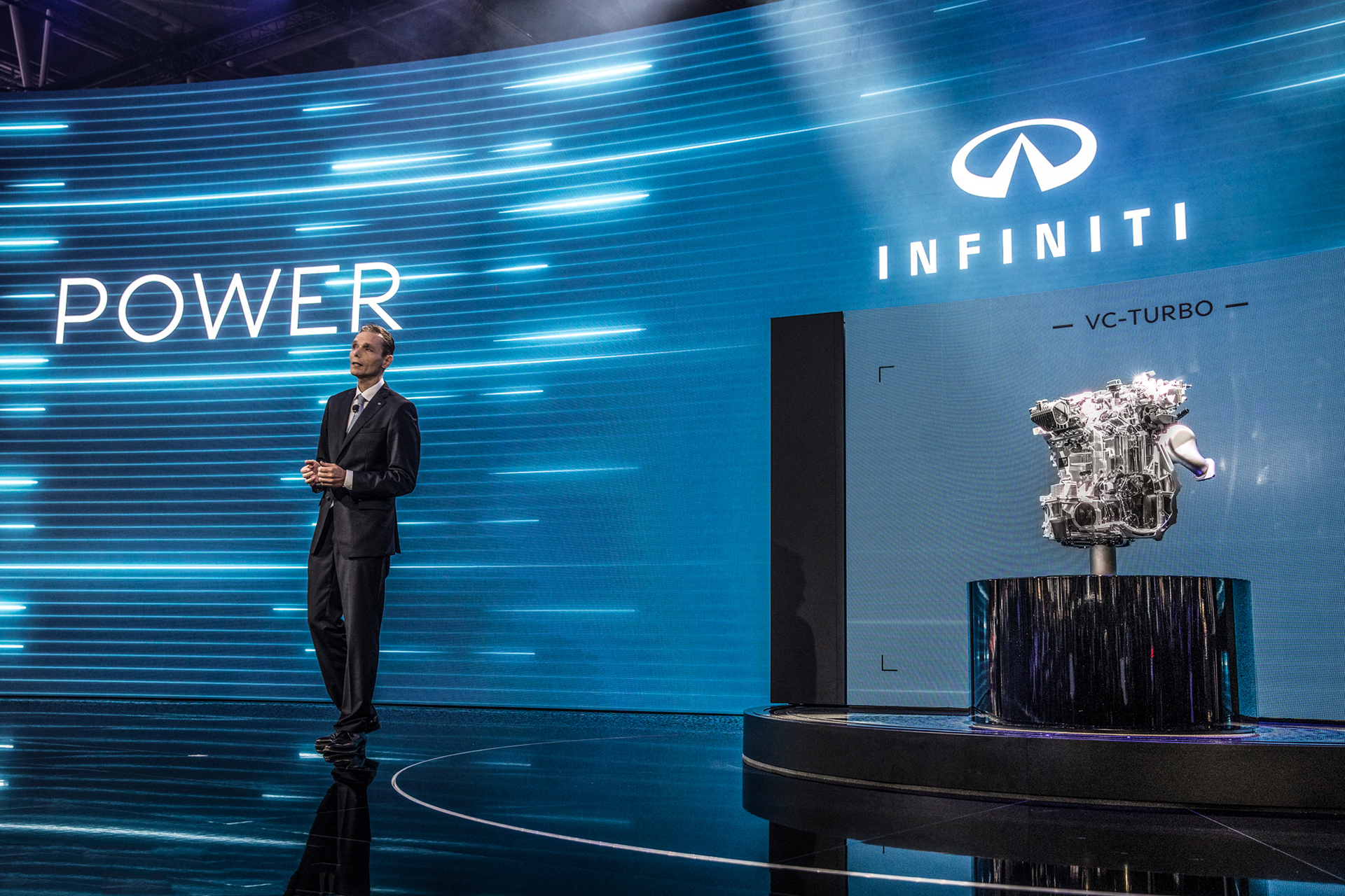 INFINITI at the 2016 Paris Motor Show © Nissan Motor Co., Ltd.