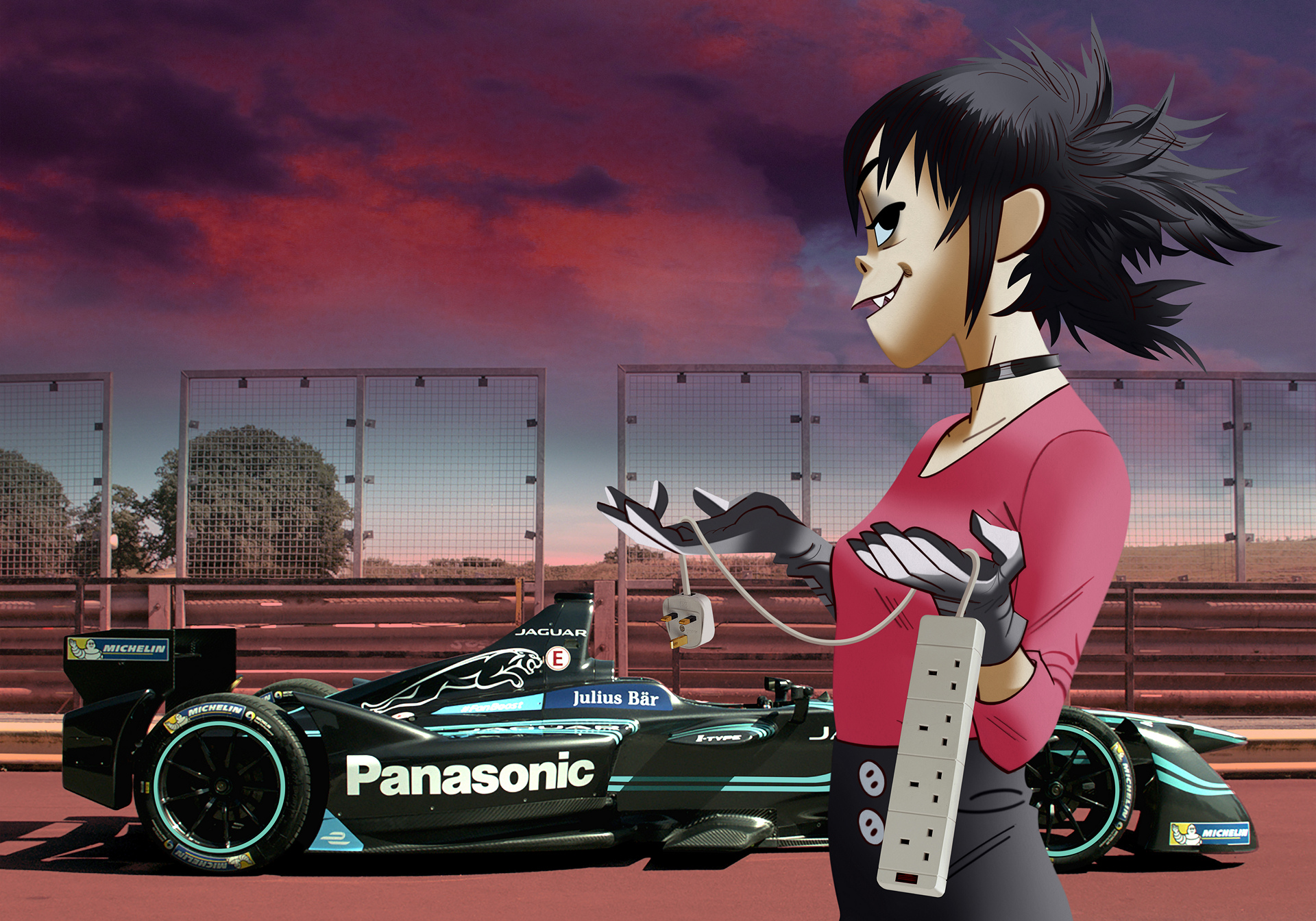 Jaguar Land Rover Announces Noodle from British Band Gorillaz as Global Ambassador © Tata Group