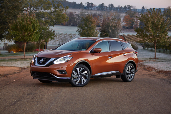 2017 Nissan Murano © Nissan Motor Co., Ltd.