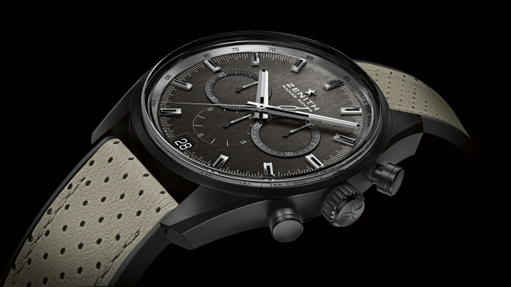 Range Rover and Zenith Unveil New EL Primero Chronograph Watch