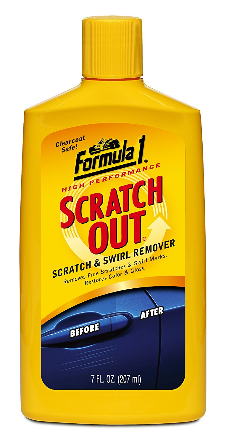 how to remove scratches from clear coat rims